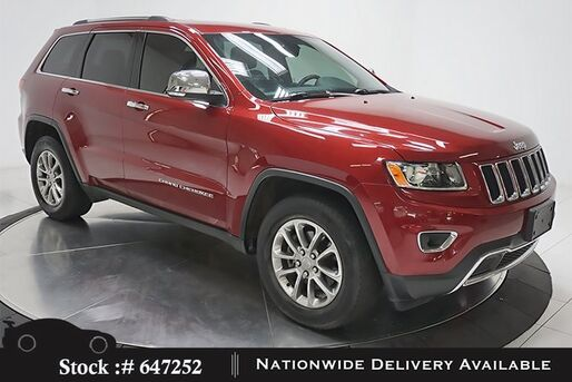 2015_Jeep_Grand Cherokee_Limited NAV,CAM,PANO,HTD STS,PARK ASST,18IN WHLS_ Plano TX