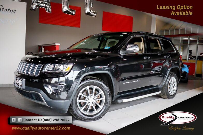 2015 Jeep Grand Cherokee Limited Navigation, Quick Order Pkg Springfield NJ