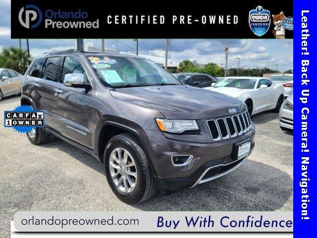 2015 Jeep Grand Cherokee Limited Orlando FL