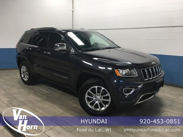 2015 Jeep Grand Cherokee Limited Plymouth WI