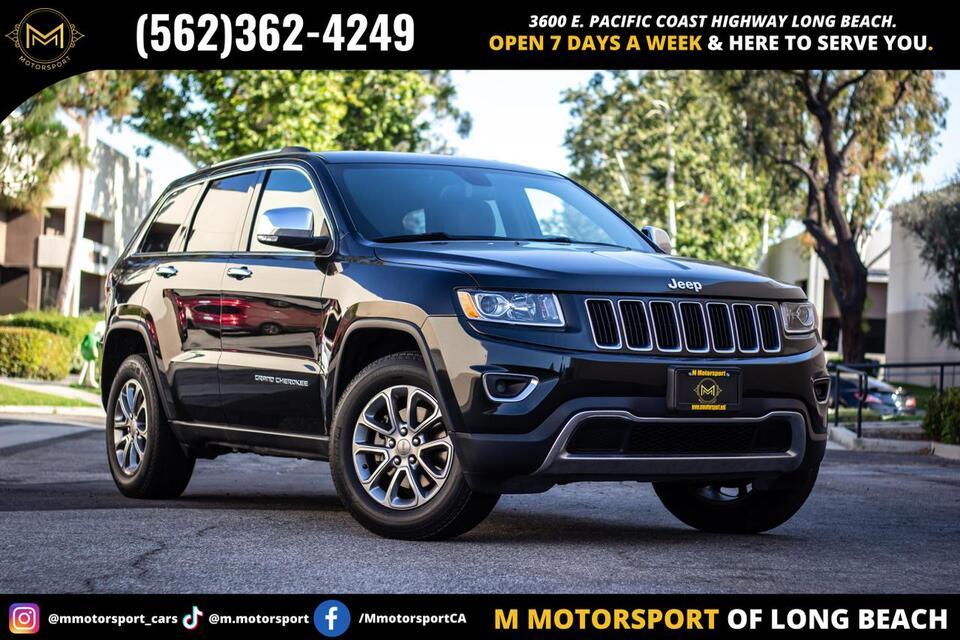 2015_Jeep_Grand Cherokee_Limited Sport Utility 4D_ Long Beach CA