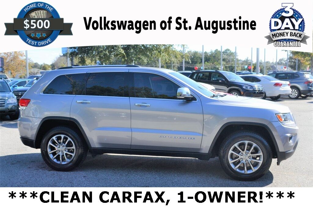 2015 Jeep Grand Cherokee Limited St. Augustine FL