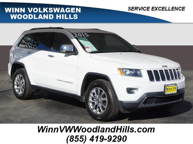 2015 Jeep Grand Cherokee Limited Woodland Hills CA