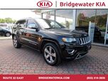 2015 Jeep Grand Cherokee Overland 4WD, Navigation, Rear-View Camera, Blind Spot Monitor, Heated/Ventilated Leather Seats, Panorama Sunroof, 20-Inch Alloy Wheels,