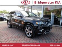 2015_Jeep_Grand Cherokee_Overland 4WD, Navigation, Rear-View Camera, Blind Spot Monitor, Heated/Ventilated Leather Seats, Panorama Sunroof, 20-Inch Alloy Wheels,_ Bridgewater NJ