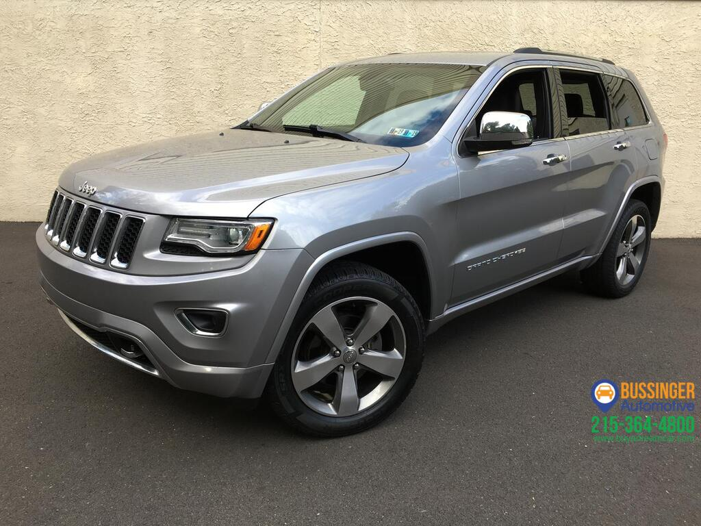 2015 Jeep Grand Cherokee Overland 4x4 Feasterville PA