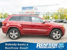 2015_Jeep_Grand Cherokee_Overland 4x4, LOW KMS, Pano Sunroof, Nav, Heated/Cooled Leather, Remote Start, Bluetooth_ Calgary AB