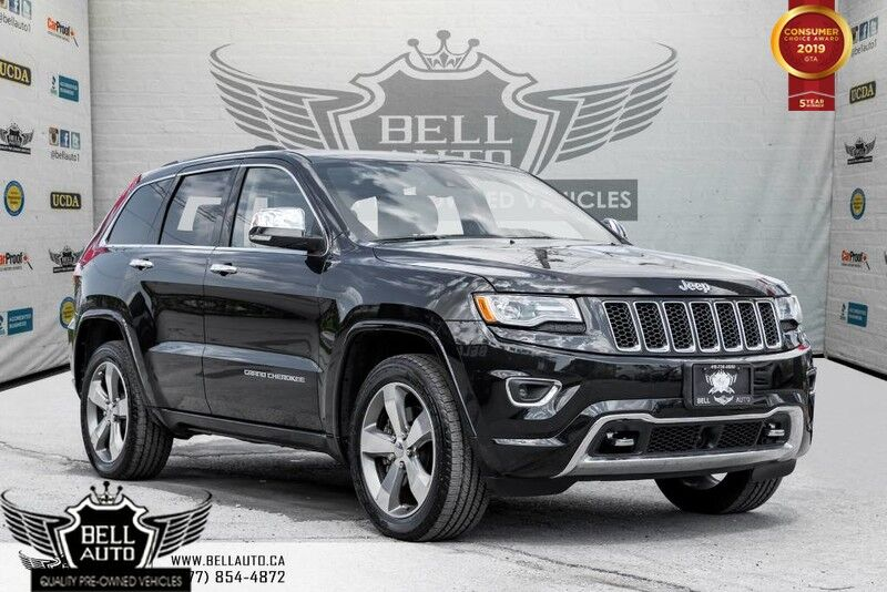 2015 Jeep Grand Cherokee Overland, AWD, V8, NAVI, BACK-UP CAM, PANO ROOF, SENSOR Toronto ON