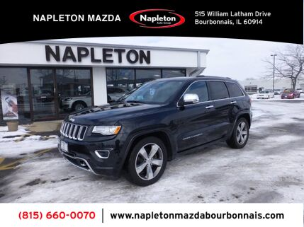 2015_Jeep_Grand Cherokee_Overland_ Bourbonnais IL