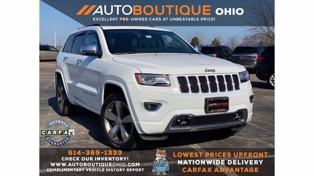 2015 Jeep Grand Cherokee Overland Columbus OH