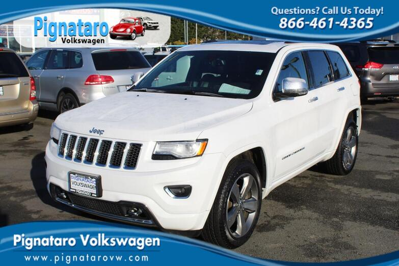 2015 Jeep Grand Cherokee Overland Everett WA