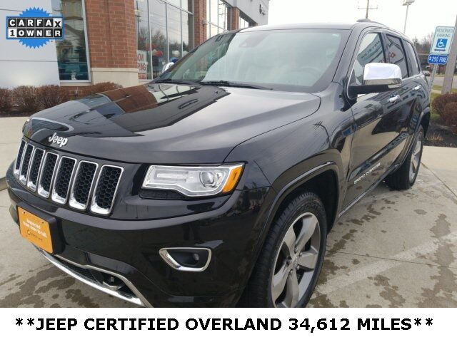 2015 Jeep Grand Cherokee Overland Mayfield Village OH