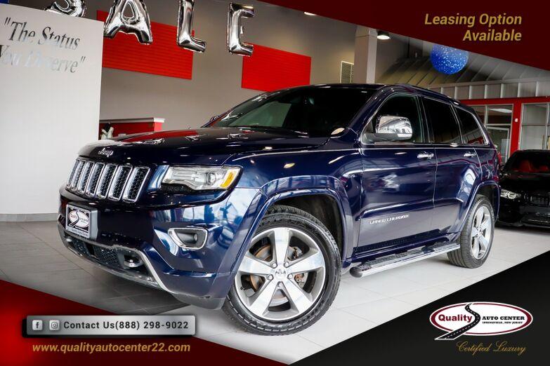 2015 Jeep Grand Cherokee Overland Mopar Chrome Edition Group Advanced Tech Pkg Quick Order Pkg Springfield NJ