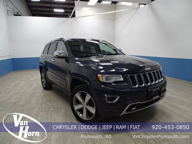2015 Jeep Grand Cherokee Overland Plymouth WI