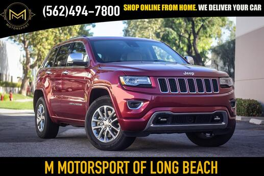 2015 Jeep Grand Cherokee Overland Sport Utility 4D Long Beach CA