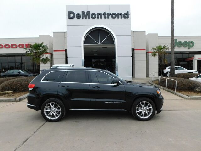 2015 Jeep Grand Cherokee RWD 4dr Summit Conroe TX