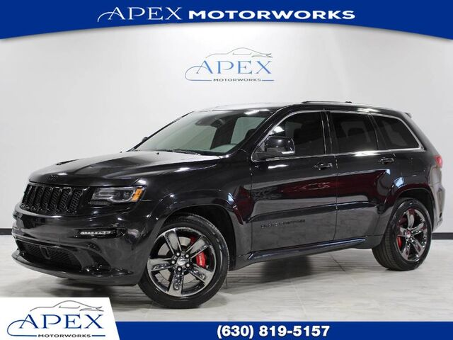 2015 jeep grand cherokee srt red vapor 1 owner burr ridge il 22310276. Black Bedroom Furniture Sets. Home Design Ideas