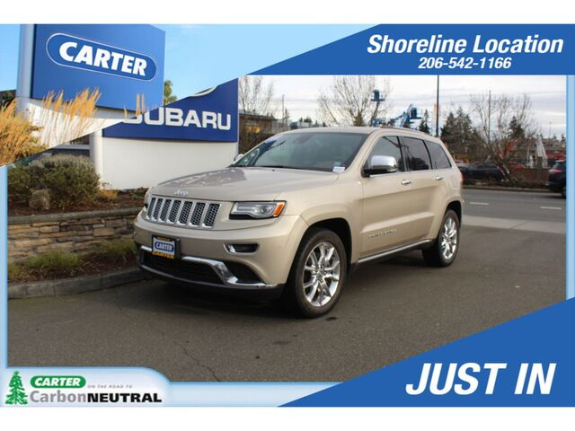 2015 Jeep Grand Cherokee Summit 4WD Seattle WA