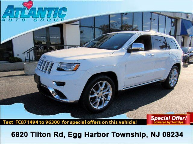2015 Jeep Grand Cherokee Summit Egg Harbor Township NJ