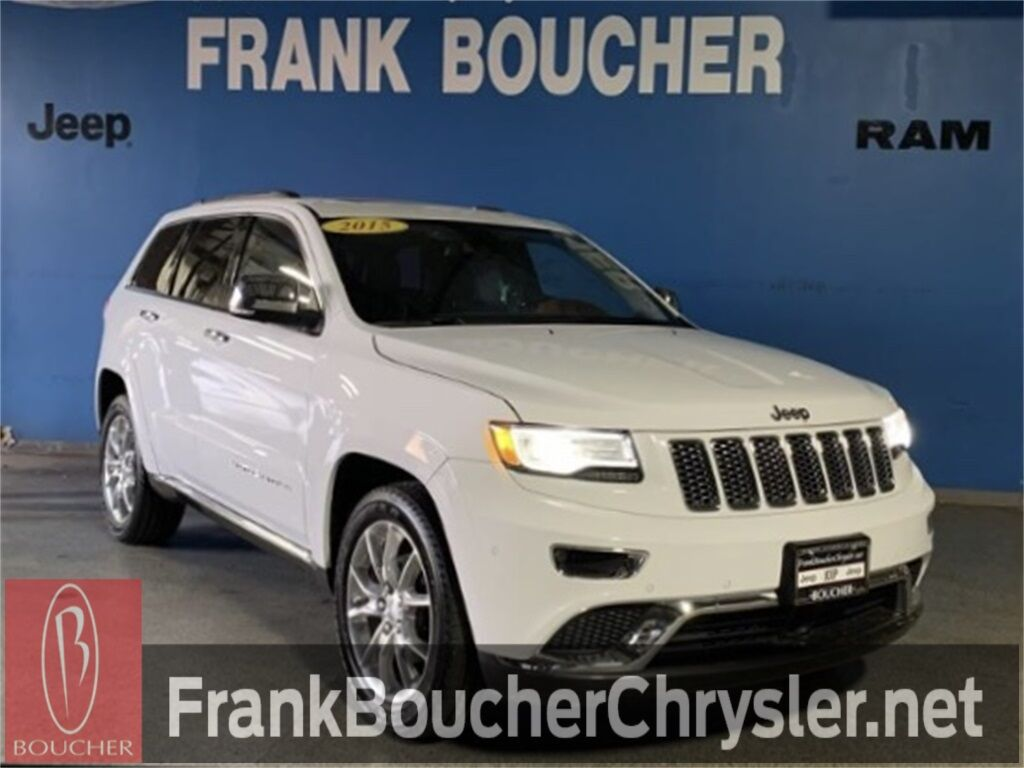 2015 Jeep Grand Cherokee Summit Janesville WI