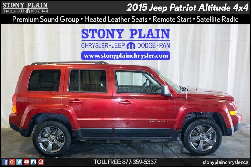 2015 Jeep Patriot Altitude Stony Plain AB