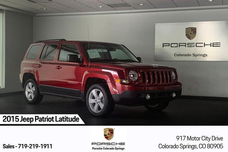 2015 Jeep Patriot Latitude Colorado Springs CO