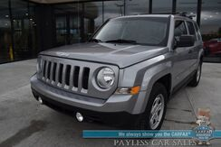 2015_Jeep_Patriot_Sport / 5-Spd Manual / Cruise Control / Air Conditioning / Aux Jack / YAKIMA Luggage Rack / 30 MPG_ Anchorage AK