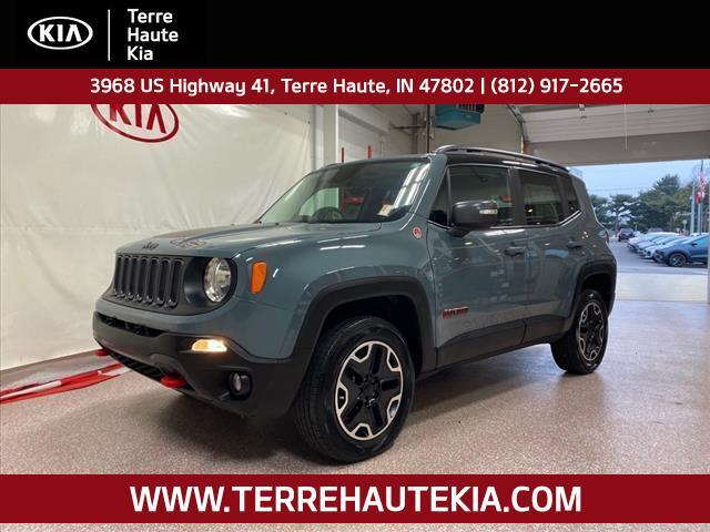 2015 Jeep Renegade 4WD 4dr Trailhawk Terre Haute IN