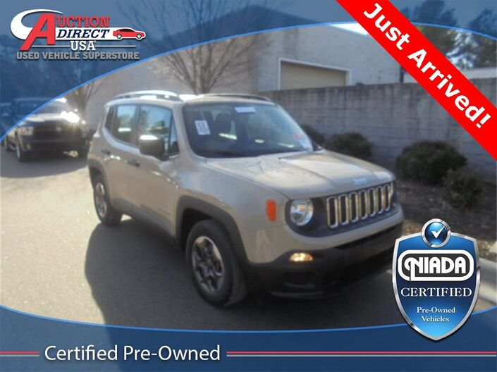 2015 Jeep Renegade Sport Raleigh