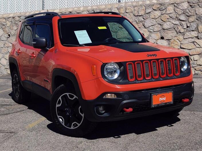 2015 Jeep Renegade Trailhawk El Paso TX