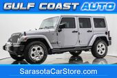 2015 Jeep WRANGLER UNLIMITED SAHARA 4x4 LEATHER HARD TOP NAVIGATION EXTRA CLEAN !!
