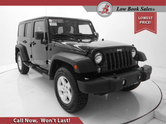 2015 Jeep WRANGLER UNLIMITED Sport 4WD HARD TOP Salt Lake City UT