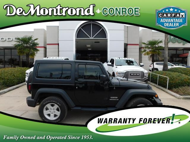 2015 Jeep Wrangler 4WD 2dr Sport Conroe TX