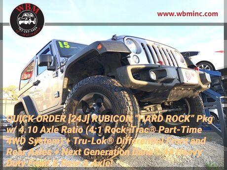 2015 Jeep Wrangler 4WD Rubicon Hard Rock Arlington VA