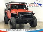2015 Jeep Wrangler SPORT 4WD SOFT TOP CONVERTIBLE BLUETOOTH CRUISE CONTROL ALLOY WH