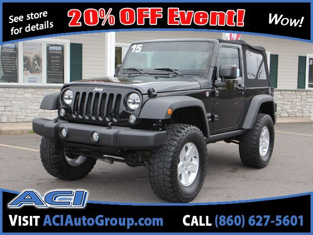 2015 Jeep Wrangler Sport East Windsor CT