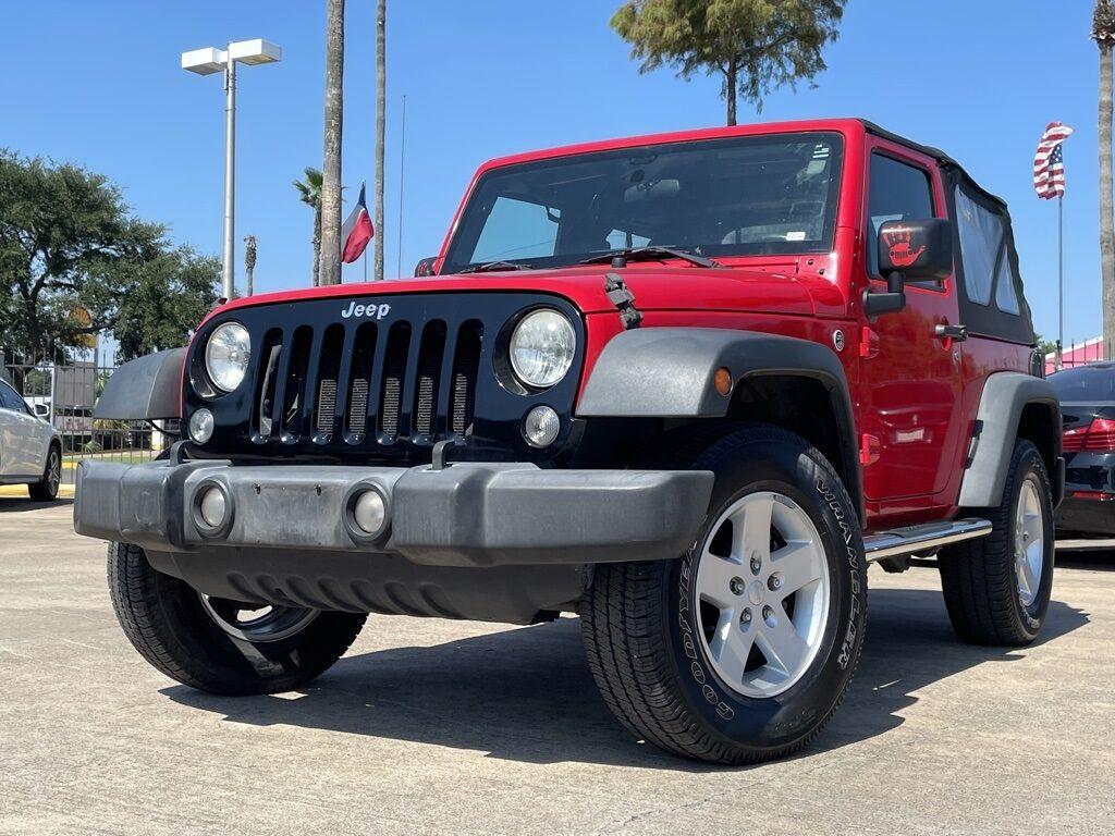 2015_Jeep_Wrangler_Sport_ Houston TX