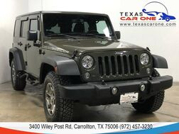2015_Jeep_Wrangler_UNLIMITED RUBICON 4WD HARDTOP CONVERTIBLE HEATED SEATS BLUETOOTH_ Carrollton TX