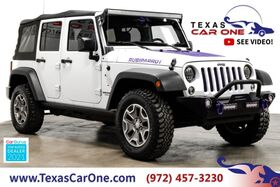 2015_Jeep_Wrangler_UNLIMITED RUBICON 4WD SOFT TOP CONVERTIBLE CRUISE CONTROL TOW HITCH ALLOY WHEELS_ Carrollton TX