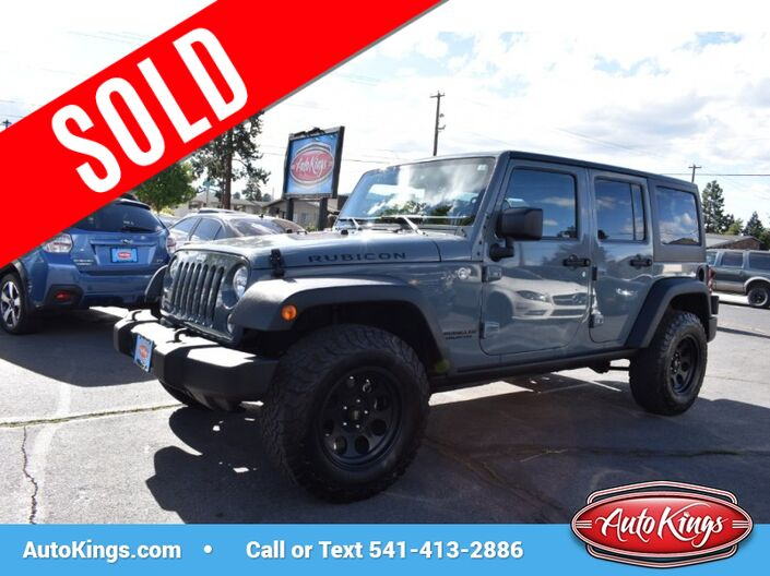 2015 Jeep Wrangler Unlimited 4WD 4dr Rubicon Bend OR