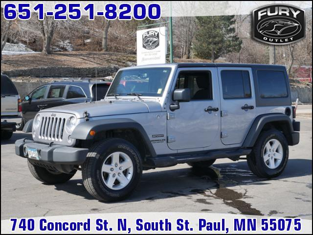 2015 Jeep Wrangler Unlimited 4WD 4dr Sport St. Paul MN