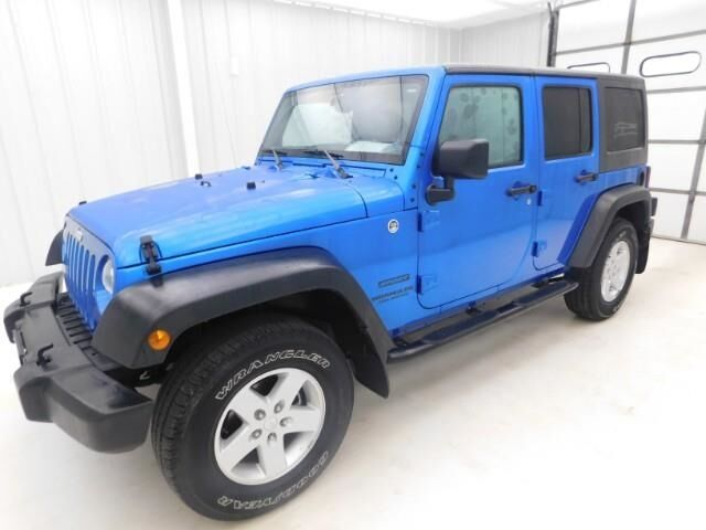2015 Jeep Wrangler Unlimited 4WD 4dr Sport Manhattan KS