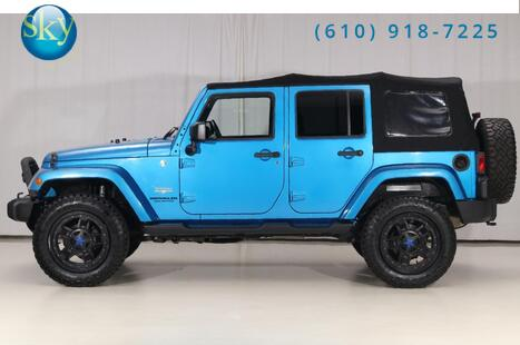 Jeep Wrangler Unlimited 4WD Sahara LIFTED 2015