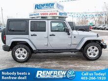 2015_Jeep_Wrangler Unlimited_4WD Sahara, Navigation, Heated Seats, Remote Start, Bluetooth, SiriusXM_ Calgary AB