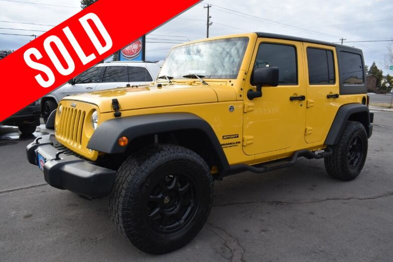 2015 Jeep Wrangler Unlimited 4WD Sport Bend OR