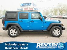 2015_Jeep_Wrangler Unlimited_4WD Sport, Bluetooth, SiriusXM Satellite Radio, A/C_ Calgary AB