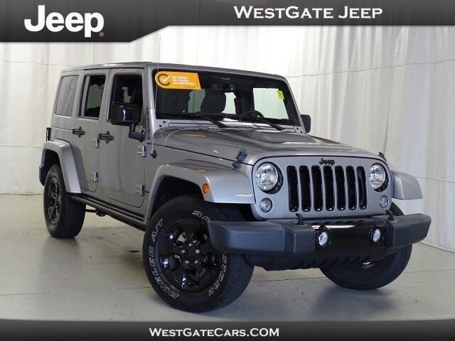2015 Jeep Wrangler Unlimited Altitude Raleigh NC