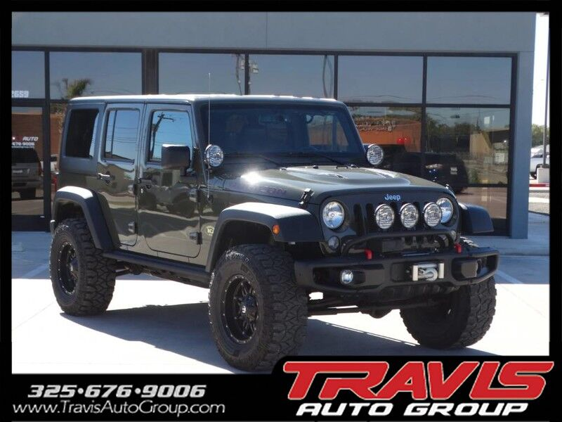 2015 Jeep Wrangler Unlimited RUBICON Abilene TX