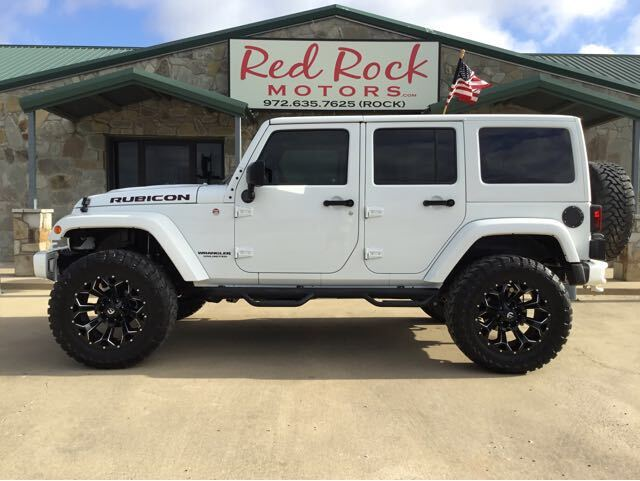 2015 Jeep Wrangler Unlimited Rubicon 4WD Royse City TX