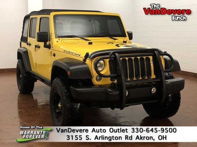 2015 Jeep Wrangler Unlimited Rubicon Akron OH